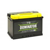 Аккумулятор DOMINATOR  6СТ - 75 VLR
