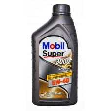 152063  Масло Mobil Super 3000 X1 Diesel 5W40 мот  син (1л) NEW
