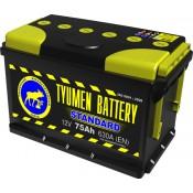 Аккумулятор Тюмень  6 СТ- 75 R STANDARD