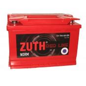 "Аккумулятор  6СТ - 75  ""ZUTH Red Line """