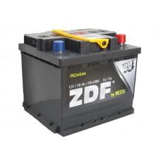 """Аккумулятор 6СТ- 50 """"ZDF Premium"""" (низкий) (обр)"""