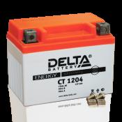 Аккумулятор Delta CT 1204  (YB4L-B, YB4L-A, YTX4L-BS)
