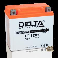 Аккумулятор Delta CT 1205 (YTX5L-BS, YTZ7S)