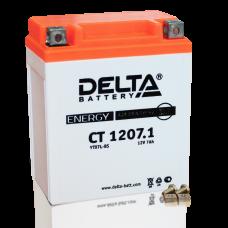 Аккумулятор Delta CT 1207.1, YTX7L-BS