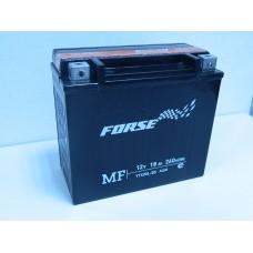Аккумулятор (мото) FORSE MF 18 A/ч (YTX20L-BS)