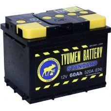 Аккумулятор Тюмень 6СТ-60 R STANDARD