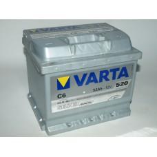 Аккумулятор VARTA Silver Dynamic  52 A/ч ОБР 552401