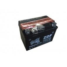 Аккумулятор ZDF YTX4L-BS 12V 4 a/h  MF BLACK с электролитом