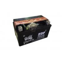 Аккумулятор ZDF YTX7A-BS 12V 7 a/h  MF BLACK с электролитом