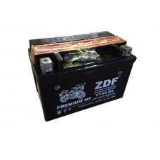 Аккумулятор ZDF YTX9-BS 12V 9 a/h  MF BLACK с электролитом