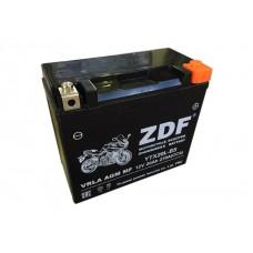 Аккумулятор ZDF YTX20L-BS 12V 20 a/h  VRLA BLACK