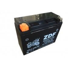 Аккумулятор ZDF YTX24HL-BS 12V 24 a/h VRLA BLACK
