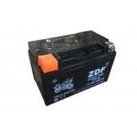 Аккумулятор ZDF YTZ10S 12V 10 a/h  VRLA BLACK