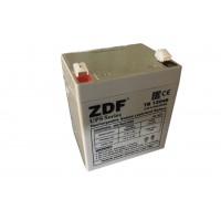 Аккумулятор тяговый ZDF DTM12045 AGM 12V 4,5 a/h