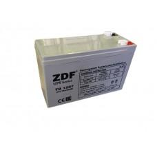 Аккумулятор тяговый ZDF DTM1207 AGM 12V 7 a/h