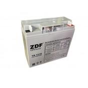 Аккумулятор тяговый ZDF DTM1218 AGM 12V 18 a/h