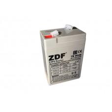 Аккумулятор тяговый ZDF DTM6045 AGM 6V 4,5 a/h