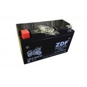 Аккумулятор ZDF YT7B-4 12V 8 a/h  VRLA BLACK