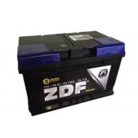 Аккумулятор ZDF 6СТ-78 Premium о/п (низкий)