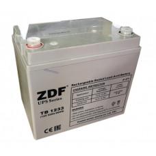 Аккумулятор тяговый ZDF DTM1233 AGM 12V 33 a/h