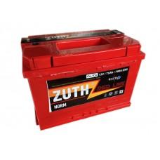 Аккумулятор ZUTH Red Line 6СТ-75 обр.
