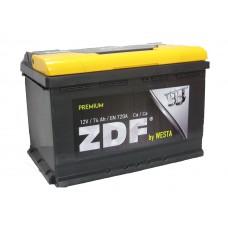 Аккумулятор ZDF 6СТ-74 Premium о/п