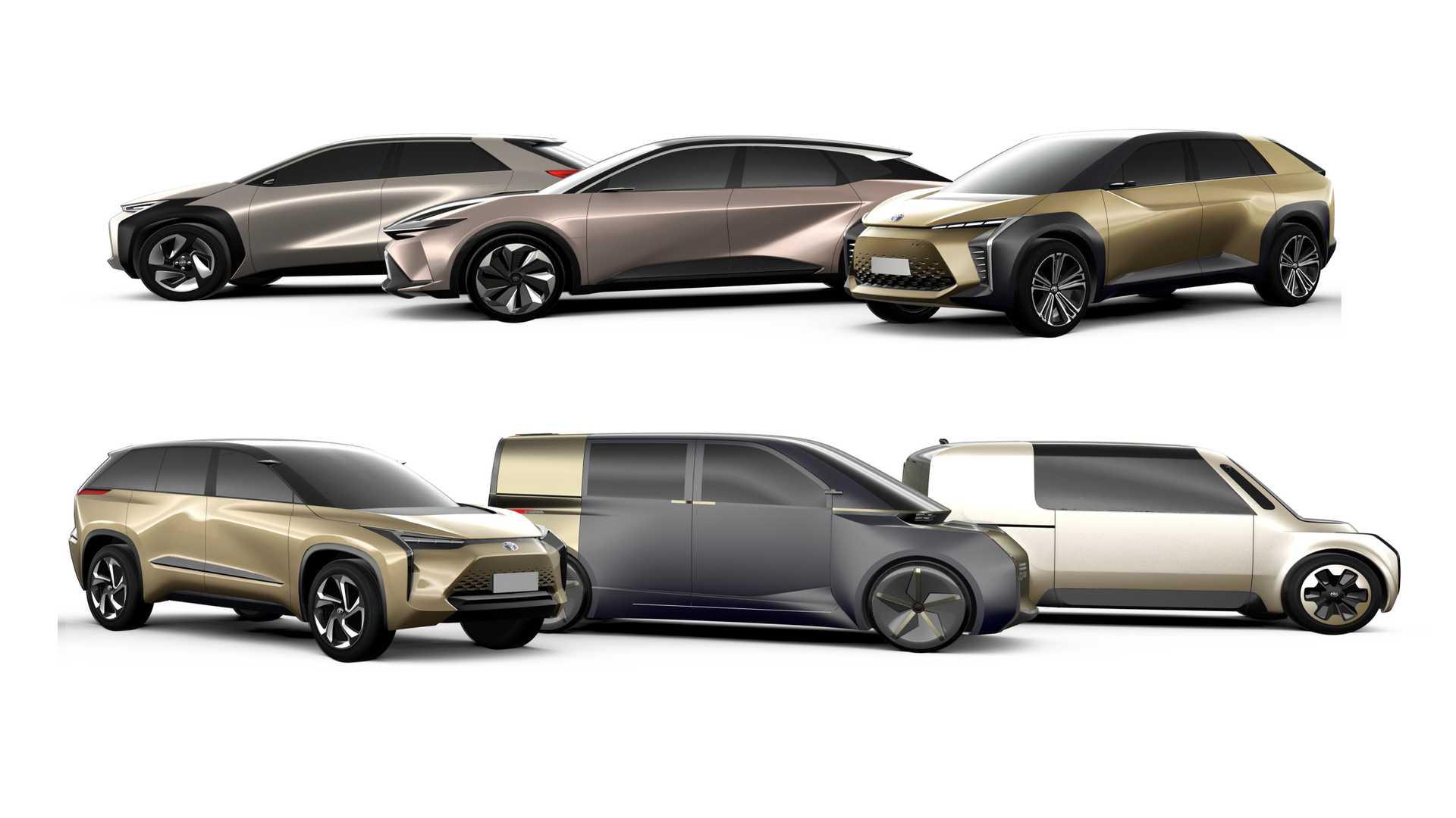 Электоромобили Toyota